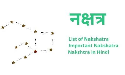 nakshatra in hindi