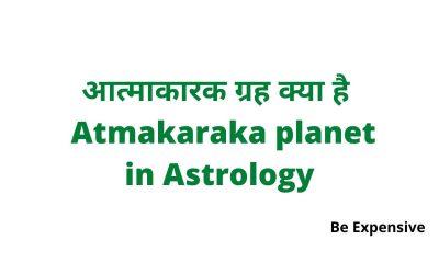 Atmakaraka planet in Astrology hindi